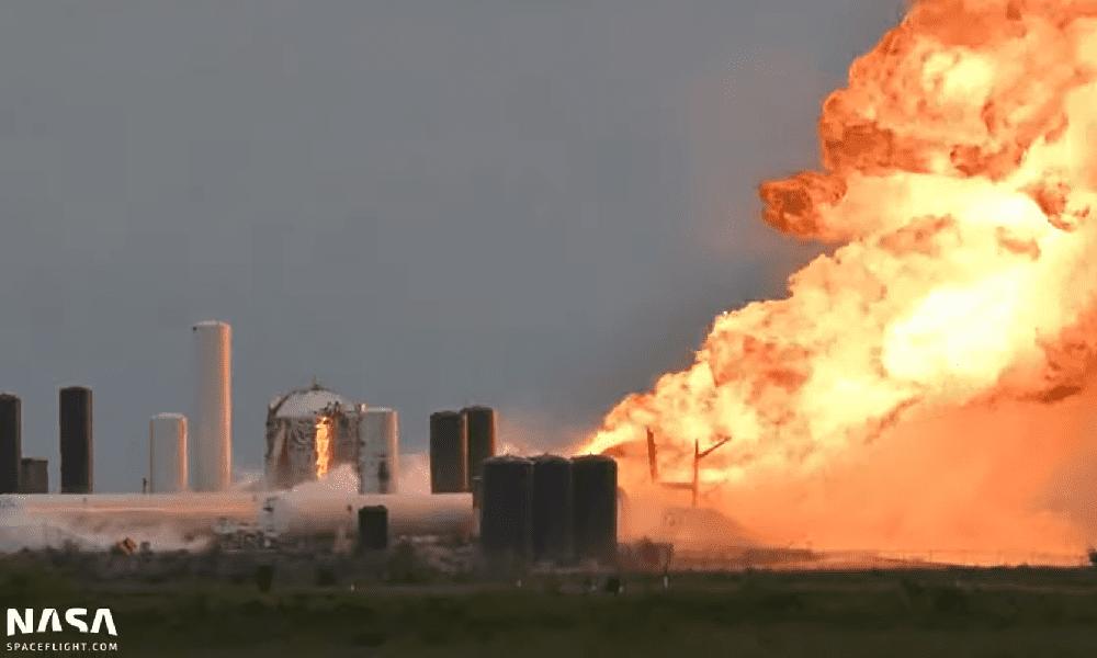 Explosión de cohete de SpaceX el 29 de mayo de 2020