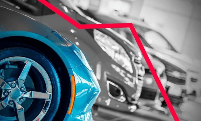 caída venta de autos