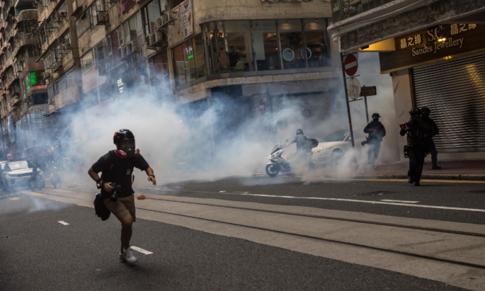 Hong Kong protestas