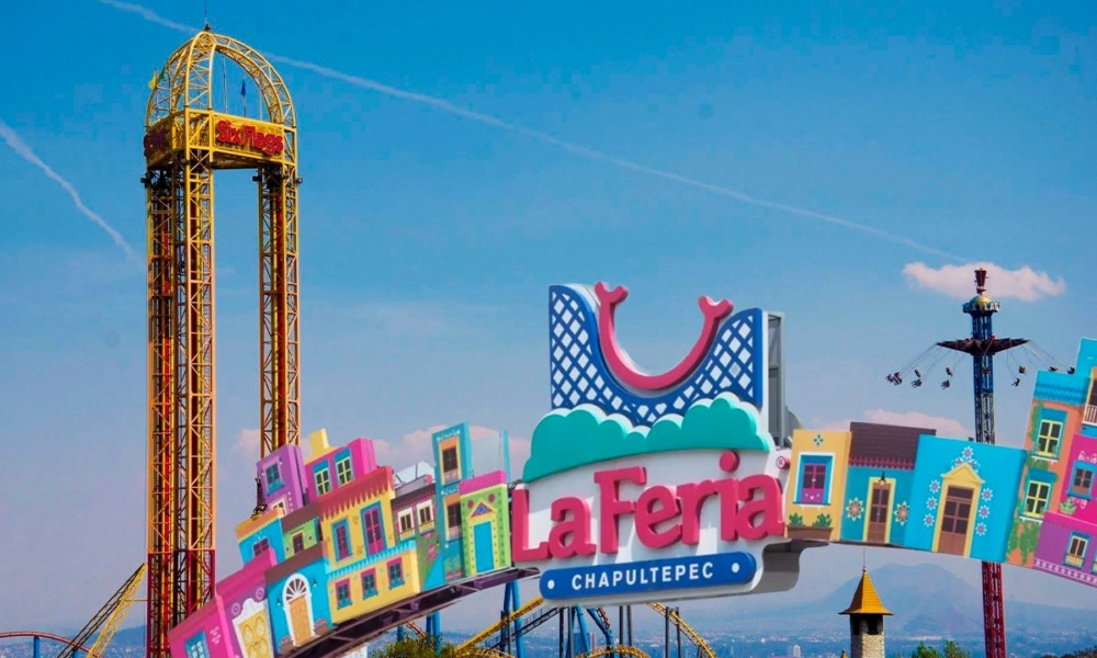 six flags la feria accidente
