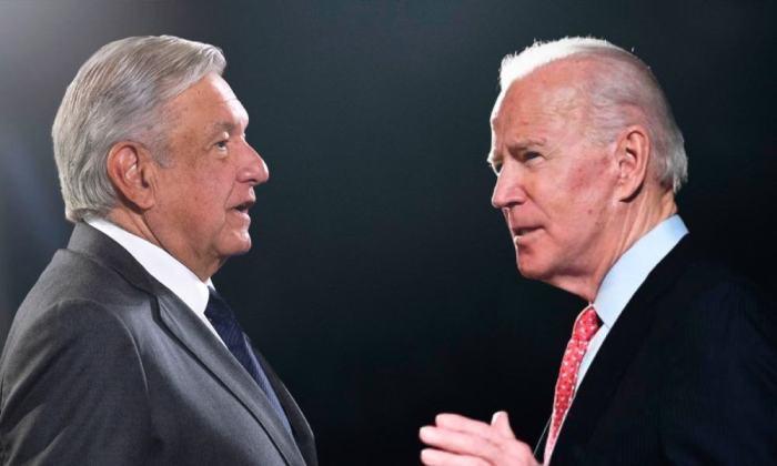AMLO y Joe Biden