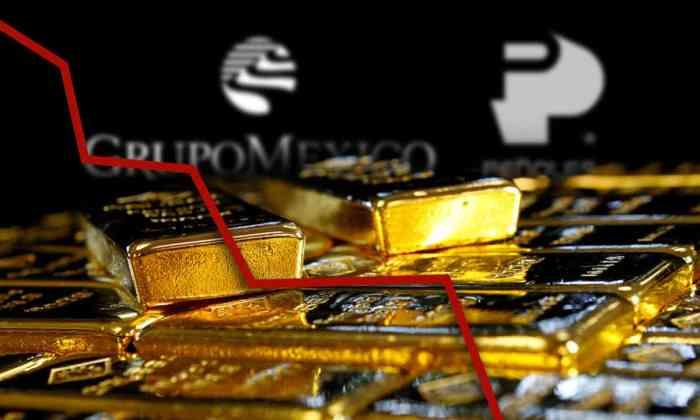 Acciones de Peñoles y Grupo México