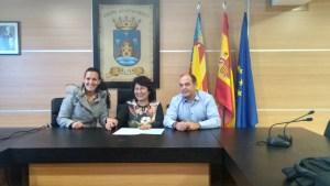 Firma de convenio con el ayuntamiento de Salinas