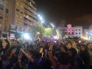 La noche violeta