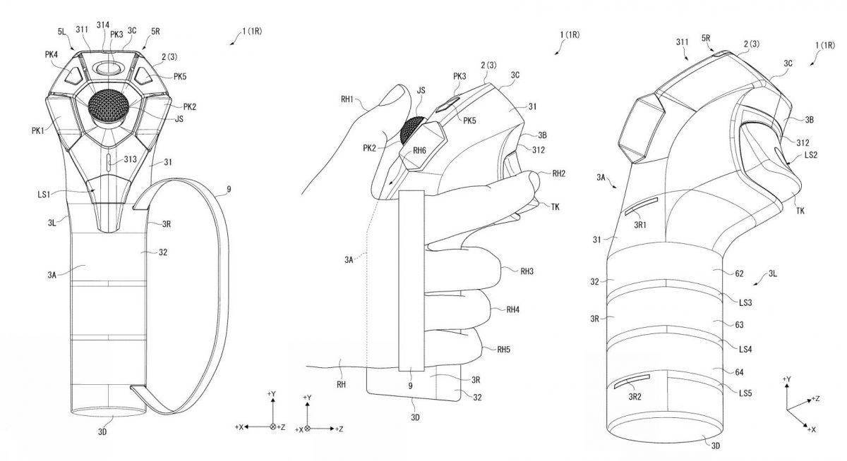Sony patenta los que serían los nuevos mandos para sus