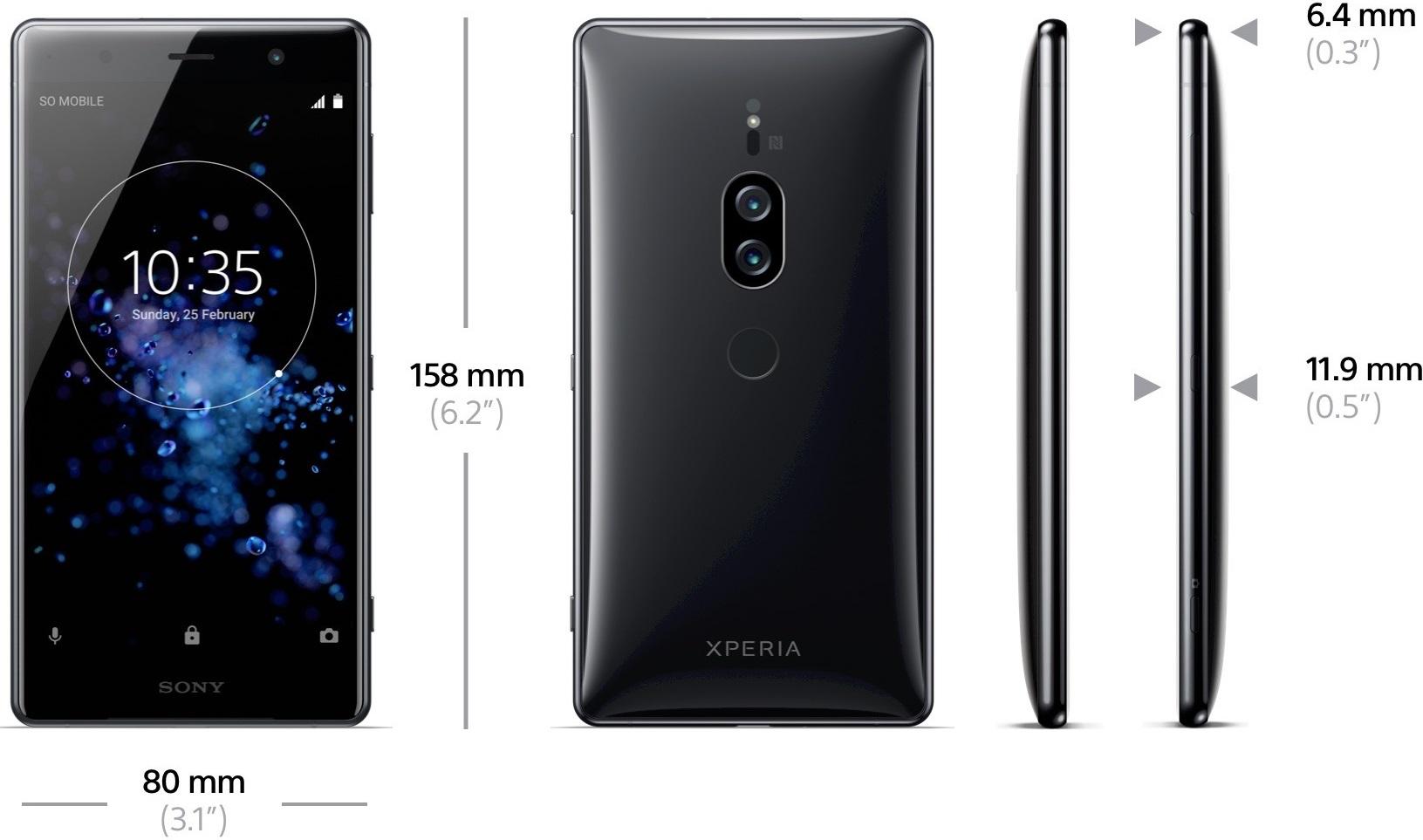 El Sony Xperia XZ2 Premium llegaría el 30 de Julio a un precio en torno a los 1.000 euros