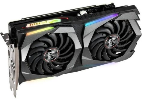 MSI GeForce GTX 1660 Gaming X render