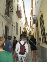 Free walking tour Granada (Ph: Christopher)