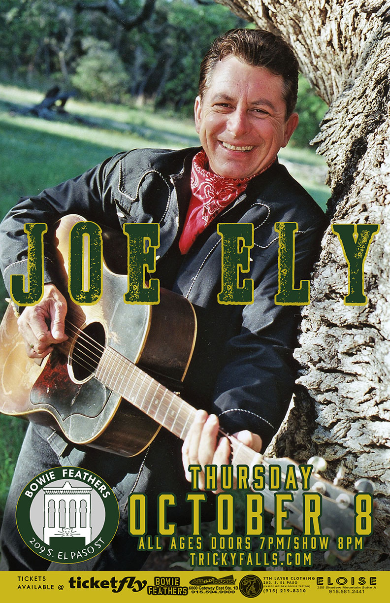 Joe Ely at Bowie Feathers