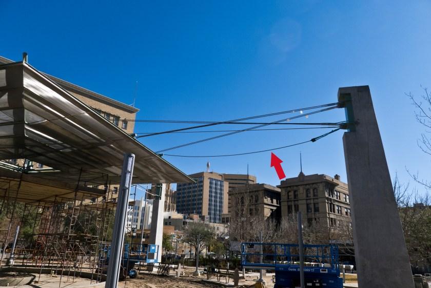 cable at san jacinto plaza