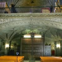 EL BAJOCORO DE LA IGLESIA DE SAN ANDRES APOSTOL DE ELCIEGO