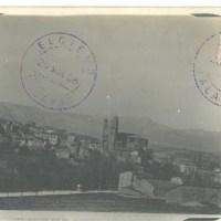 1908 La foto panorámica de Elciego más antigua que conocemos
