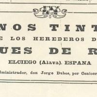 El TRASLADO FUNEBRE DE JORGE DUBOS (1944-03-20) Administrador de la bodega de los Herederos del Marqués de Riscal