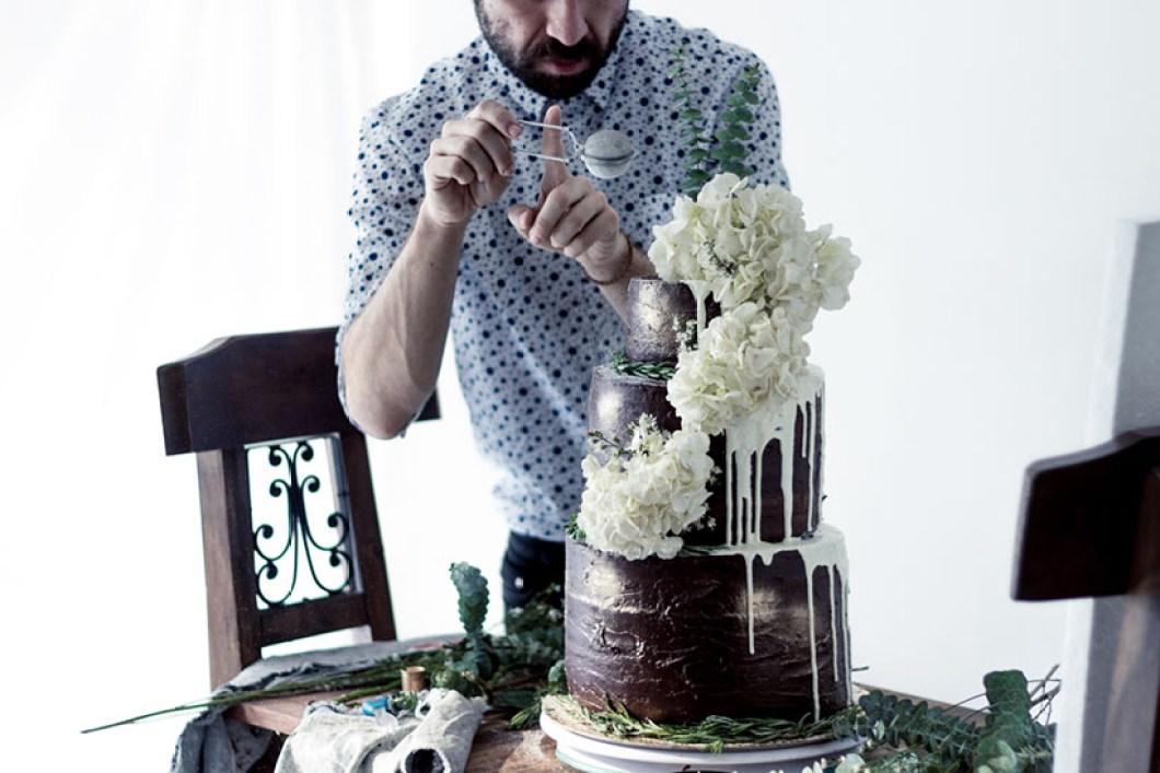 Chocolate Wedding Cake 04