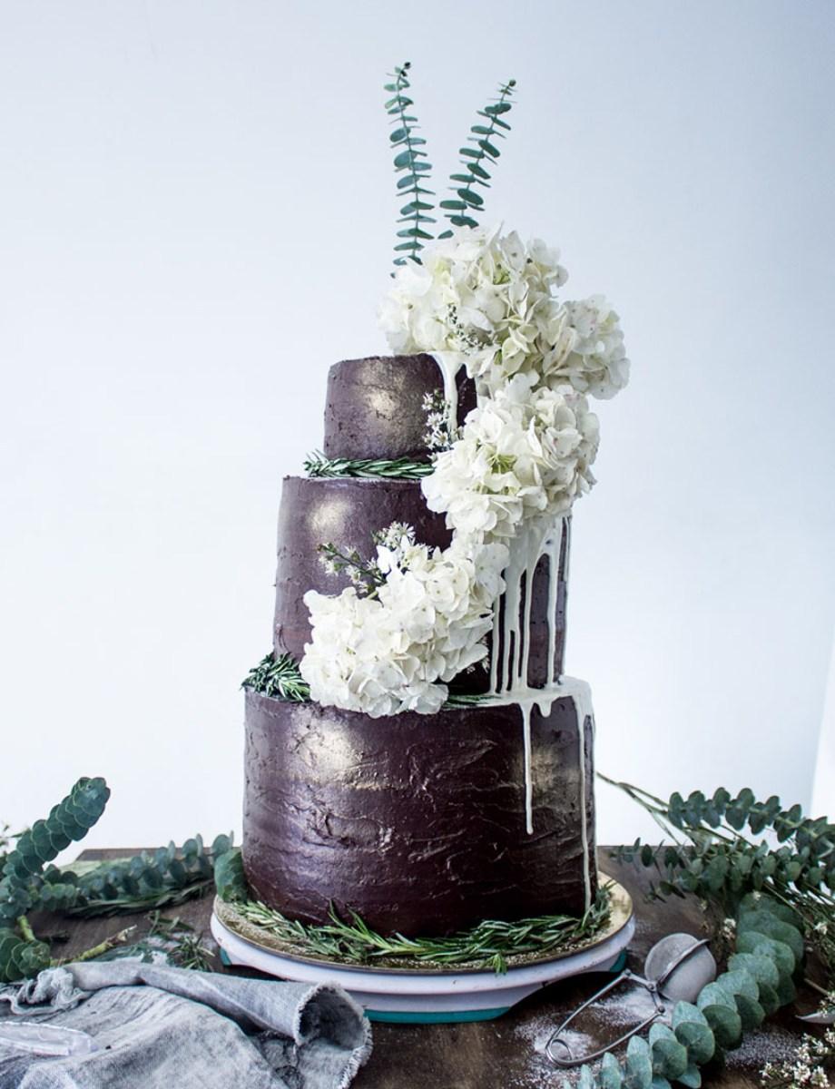 Chocolate Wedding Cake 08