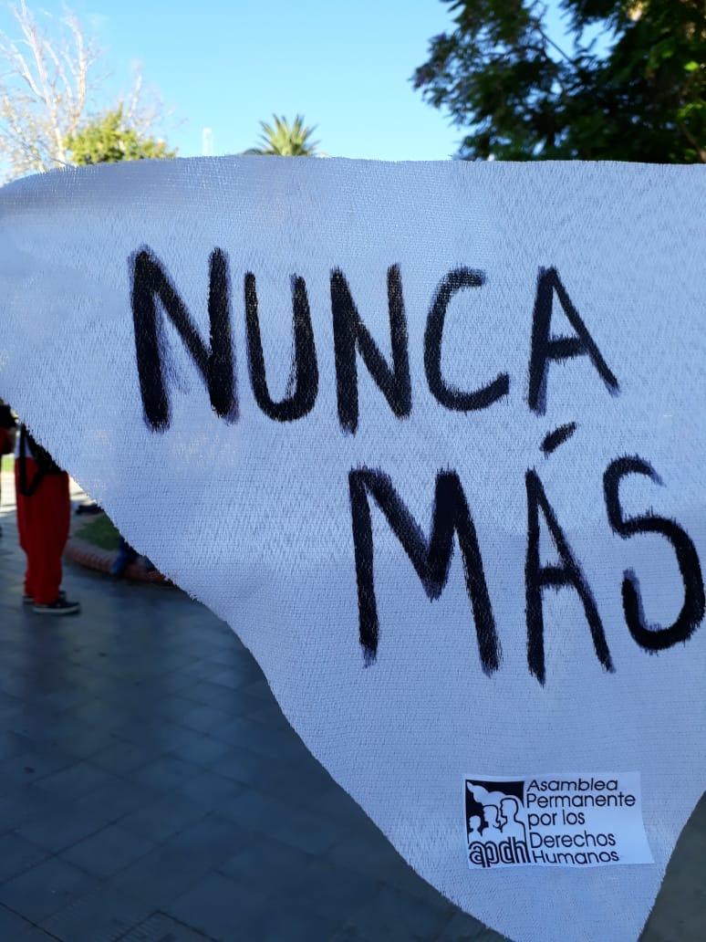 A 43 años del golpe Cívico-militar, se renueva el grito de NUNCA MÁS