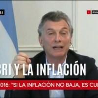 """Inflacion de Junio: """"cambiemos"""" no acierta, en 6 meses llegó a la inflación que  pronosticó para todo 2019"""