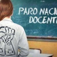 Paro nacional docente, la provincia adhiere