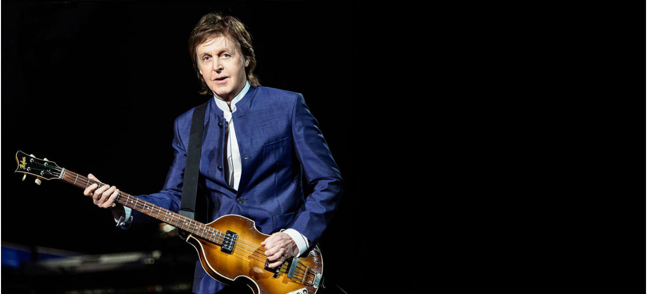 Paul McCartney inicia serie de conciertos en Japón.