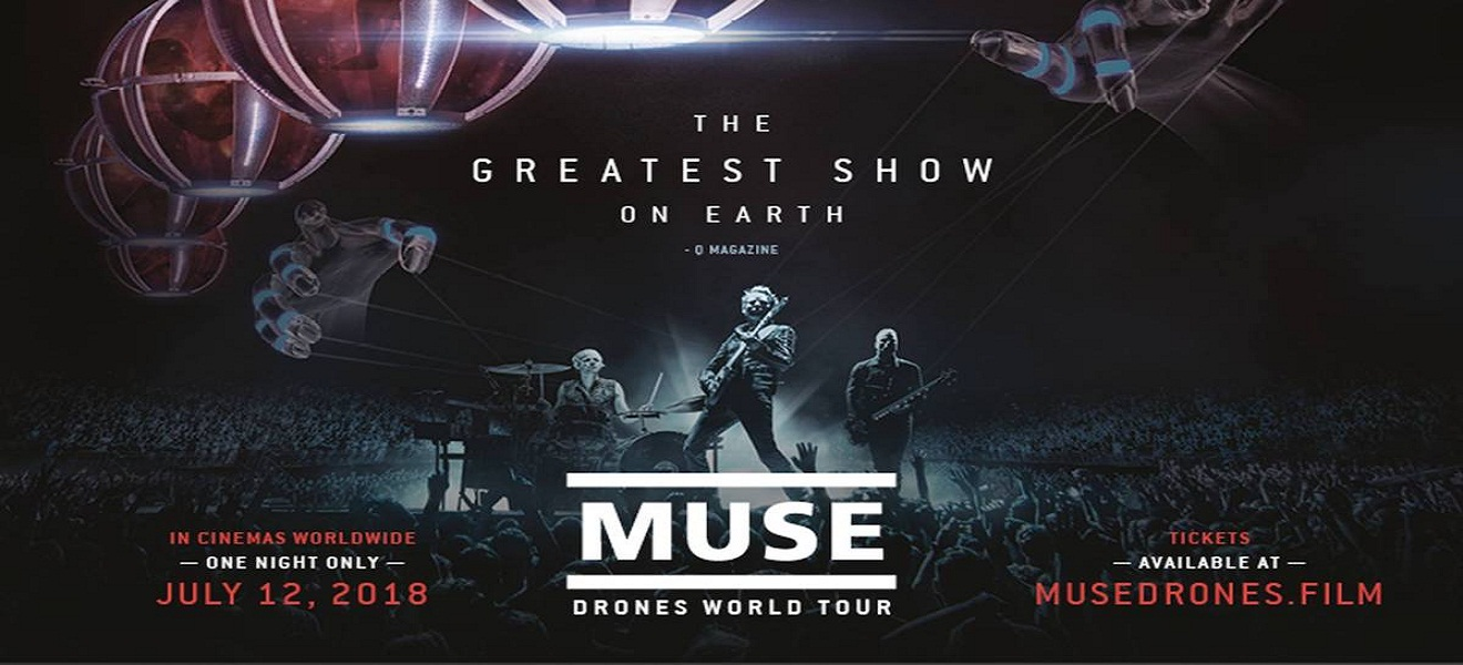 Drones World Tour: Una gira sorprendente