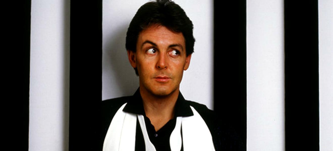 Paul McCartney, el blanco y negro en perfecta armonía.