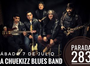 La Chuekizz Blues Band copa la medianoche del 7 de Julio