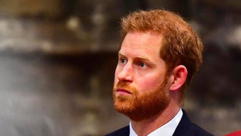 Príncipe Harry tuvo un video chat sin Meghan Markle