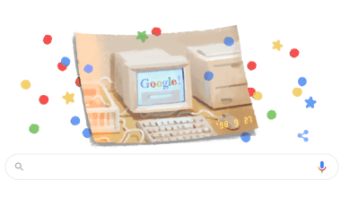 Photo of Google cumple 21 años y lo celebra a su estilo: con un doodle en su honor