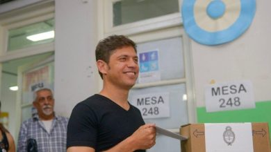 Photo of Votó Axel Kicillof y no habló con los medios