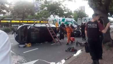 Photo of Accidente en la Avenida 9 de Julio