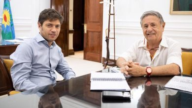 Photo of Encuentro entre Axel Kicillof y Eduardo Duhalde