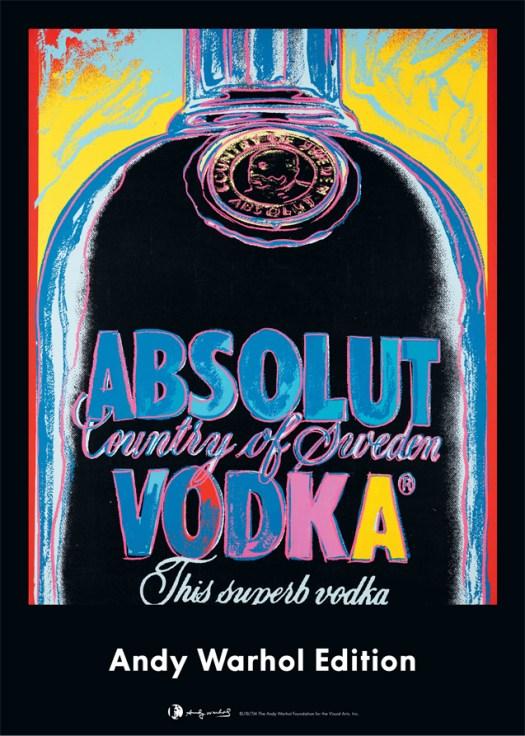 Obra Absolut Warhol