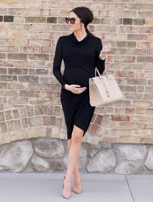 black-helmut-lang-dress