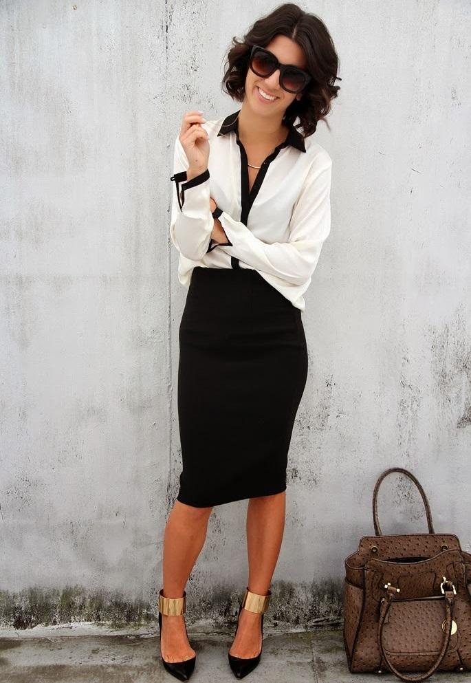 31ce6315b86d 7 formas de usar una falda lápiz para la oficina. – El Closet de ...