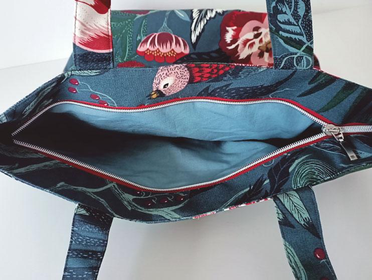 Cómo Coser Una Tote Bag Con Cremallera