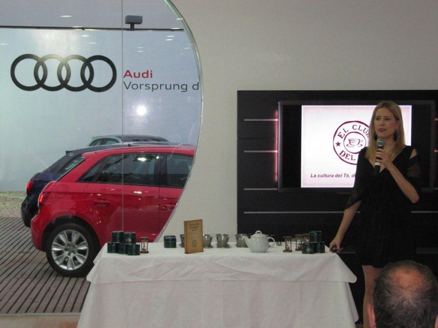Eventos corporativos empresariales - Cata de té en Audi
