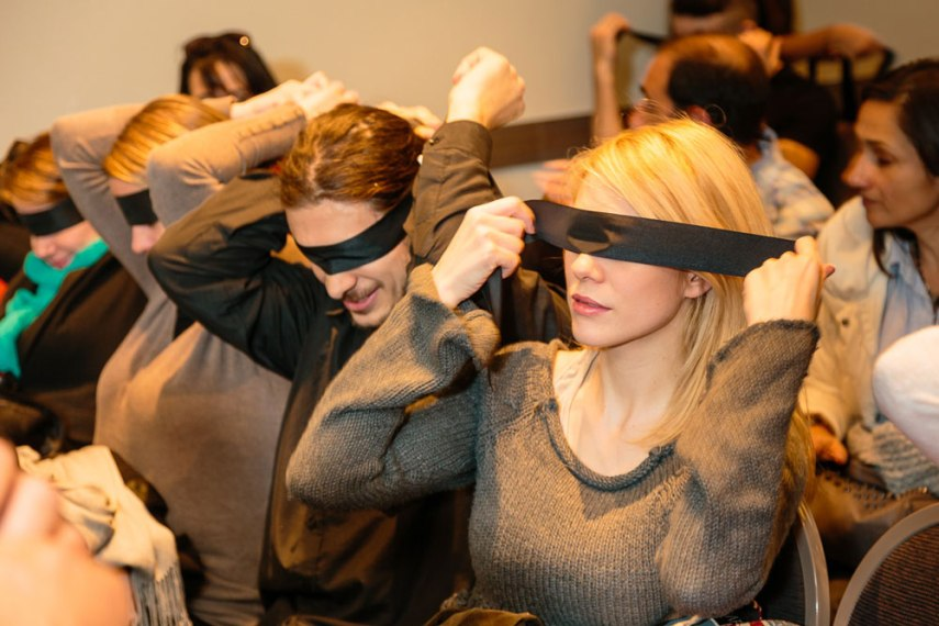 Eventos corporativos empresariales - Cata de té a ciegas