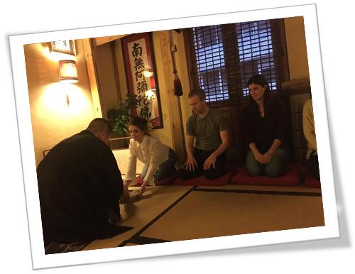 té matcha en la ceremonia japonesa del té