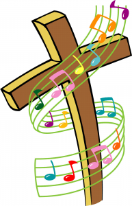 CrossWithMusicNotes