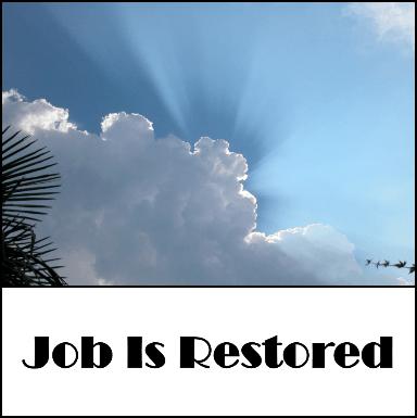 Job is restored
