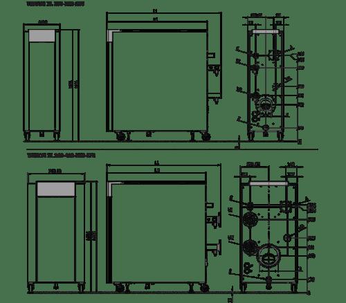 dimensions chaudiere TRIGON XL