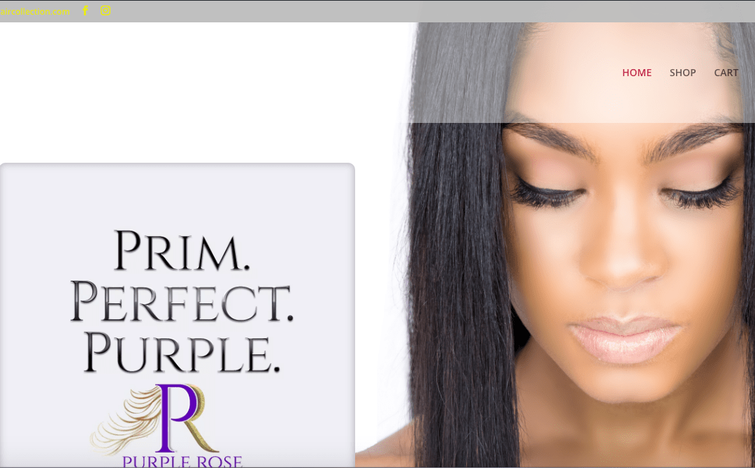 Purple Rose Hair Collection