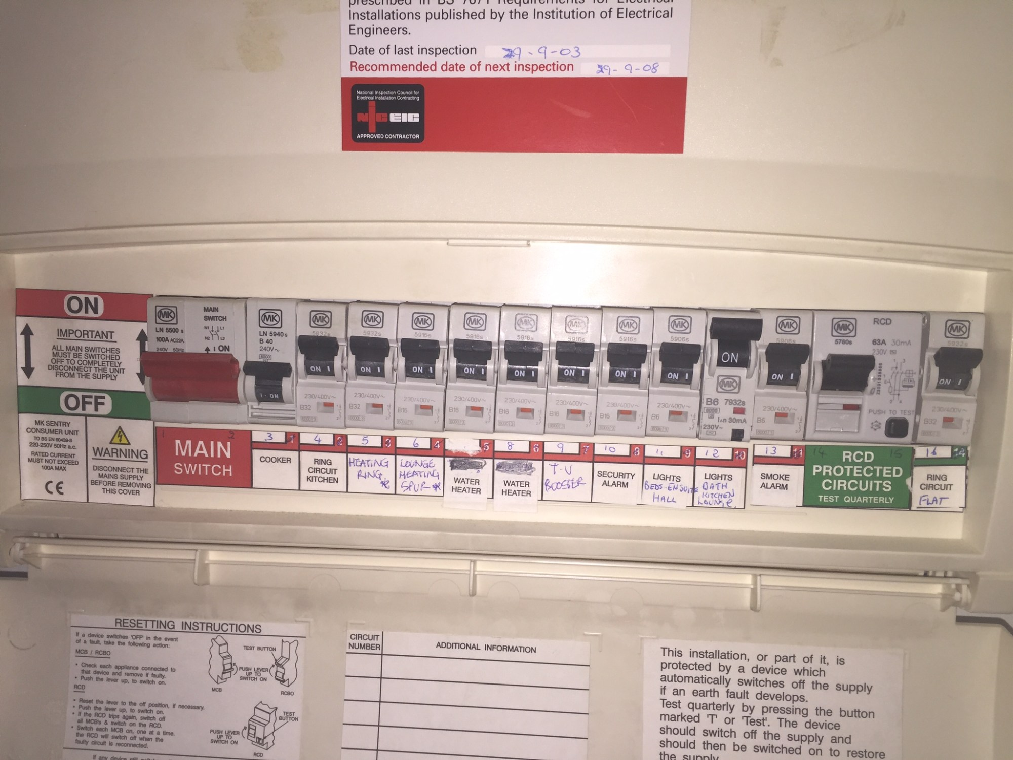 hight resolution of consumer unit fuse box replacement finsbury park manor house washer box replacement house fuse box