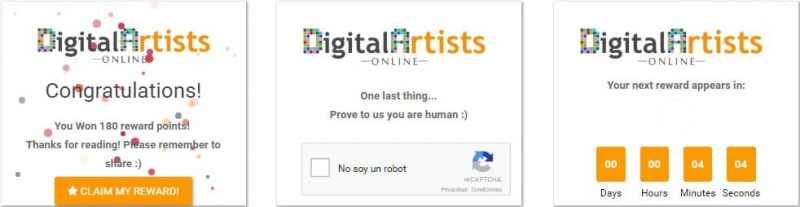 Digital Artists Online Captcha