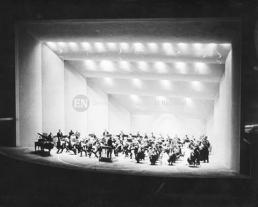 Concierto inaugural de la Concha Acústica