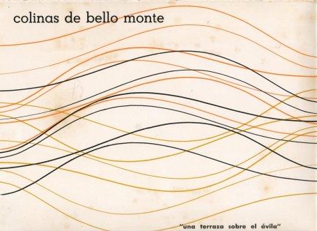 Afiche de la constructora Colinas de Bello Monte S.A. | Foto: Rosendo Reglá Casals (1927-1999)