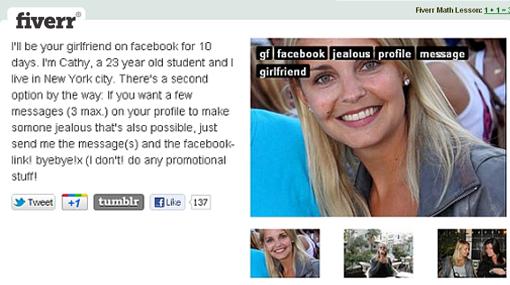 Curiosidades, Facebook