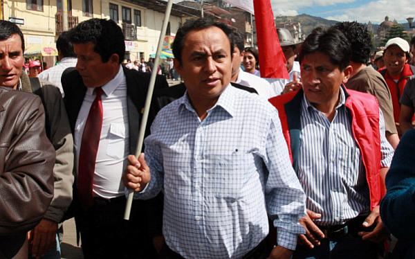 , Conflictos sociales, Cajamarca, Proyecto Conga, Fiestas Patrias 2012