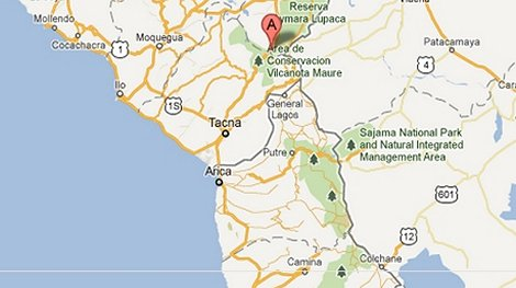 Chile cierra frontera con Perú por minas antipersonales