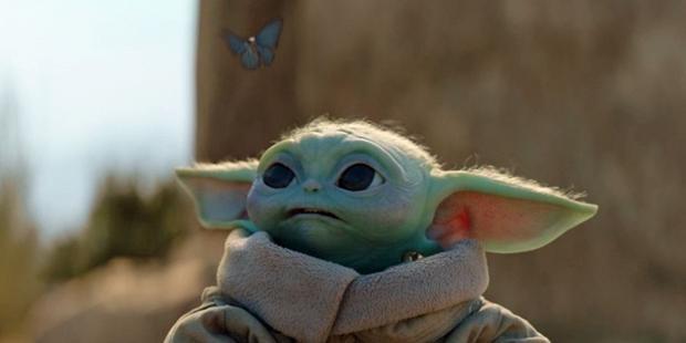 Grogu, Ben Solo and the blue butterflies (Photo: Lucasfilm)
